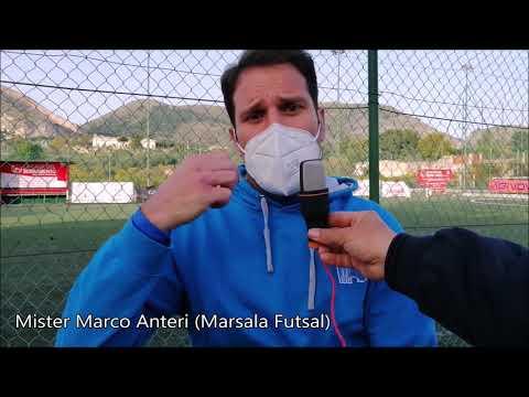 immagine di anteprima del video: Marsala Futsal: Mister Anteri dopo la vittoria sul Casteldaccia