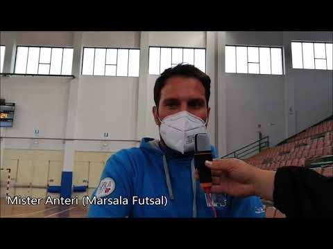 immagine di anteprima del video: Intervista di Mister Anteri nel dopo gara di Marsala F. -...